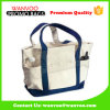 100% Natural Canvas Lady Tote Bag with Convenient Pockets