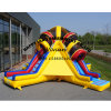4 Lane Commercial Bouncer Dry Inflatable Slide