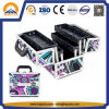 Aluminum Carry Cosmetic Makeup Train Case (HB-1022)
