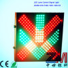 300mm LED Flashing Traffic Lane Control Signal with Red Cross & Green Arrow