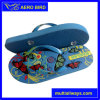 African PE Wholesaler Price Slipper Shoe with Colorful Strap (14G013)