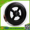 Cast Iron Black Rubber Caster Wheel