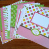 High Quality Custom Scrapbooking Paper Designs Pattern Paper Pack