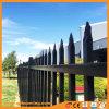 Aluminum/Galvanized Steel Punched Through Spear Garden Fence