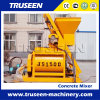 Js1500 Twin Shaft Stationary Electric Small Concrete Mixer