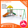Popular Children Play Area Outdoor Playground with Swing
