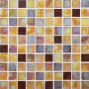 Yellow Color Mosaic Wall Tile, Glass Mosaic