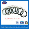 Black Finishing Zinc Plated DIN6797j Internal Teeth Washers Steel Washers Lock Washer