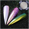 Unicorn Aurora Rainbow Chrome Mirror Nail Pigment Pearl Mermaid Powder