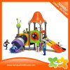 Mini Outdoor Playground Equipment Play Station Plastic Slide for Sale