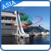 Ocean Summer Games Funny Cheap Inflatable Sea Yacht Slide for Sale
