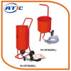 Industrial Used Dustless Blasting Equipment with Air Compressor