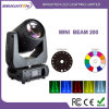 Mini Intelligent Stage Light Moving Head Beam 200 5r