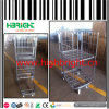 500kg Load Capacity Warehouse Logistic Nestable Roll Trolley Cart