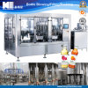 Automatic Apple Juice Glass Bottle Filling Equipment in Zhangjiagang