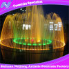 Circular Musical Dancing Fountain with Marble Statue