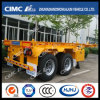 Popular Cimc Huajun 20FT 2axle Skeletal Container Trailer