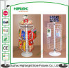 Grocery Store Counter Top Wire Mesh Retail Display Stands
