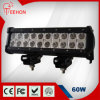 60W 10inch Straight Double Row LED Light Bars