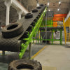 Used Tire Recycling Machine Production Line with Wire Free Mulch Plant