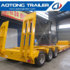 100 Tons Heavy Excavator Transport Lowboy Trailer, 3 Line 6 Axle Low Boy Semi Trailer