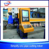 Middle Duty Steel Pipe CNC Oxy Plasma Cutting Machine