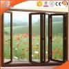 Solid Oak Wood & Aluminum Bifolding Glass Windows