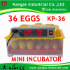 Cheap and High Quality CE Approved Full Automatic Mini Small Size Egg Incubator for Big Sale (KP-36)