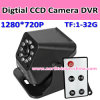 720p Digital CCD Camera DVR with Remote Control (VM-226A)