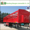 China 3 Axle Stake Trailer for Sale, Stake Semi Trailer Fence Truck Trailer