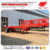 Hot Selling 12 Tyres 40FT Skelecton Semi Tow Truck Trailer