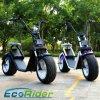 2017 Newest Product Ecorider City Coco Electric Scooter with Double Seat