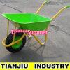 Garden Farming Wheel Barrow Wb5220 with Pneumatic Wheel