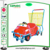 Shopping Trolley Cart for Kids with Metal Basket