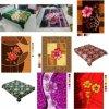 Flower Printed Blanket 100% Polyester Chemcal Fiber Blanket (HX-051)