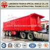 3 Axles High Carriage Rear Self-Dumping Semi Trailer (tipper trailer)