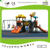 Kaiqi Cartoon Series Small Swing Set with Slide for Kids (KQ20026A)