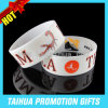 1 Inch Screen Printing Silicone Wristband Wide Rubber Wristband (TH-08843)