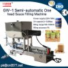Semi-Automatic One Head Filling Machine for Peanut Butter (GW-1)