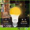 Yellow Color Mosquito Repellent LED Light Bulb 6W Sensor LED Bulb