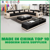 Miami Living Room Leather Corner Sofa Set