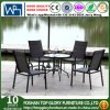 PE Rattan Hot Sale Dining Table and Chairs Set Outdoor Furniture