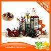 Pirate Ship Plastic Slides Outdoor Amusement Park Playground for Sale