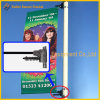 Street Pole Advertising Banner Flex Spring Banner Holder Device