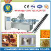 puffed snack food with chocolate filling processing extruder