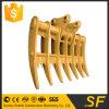 China Supplier Excavator Parts Fit PC200 Root Rake Rake for Excavator