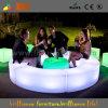Modern Outdoor LED Furniture/Plastic Garden Table/Light up Tables