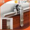 Grille Design Solid Wood Sliding Door for High-End Villa