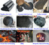 High Temperature Wood Sawdust Briquette Charcoal Furnace