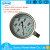 4.5inch Dial Full Stainless Steel Glycerin Filled Pressure Gauge